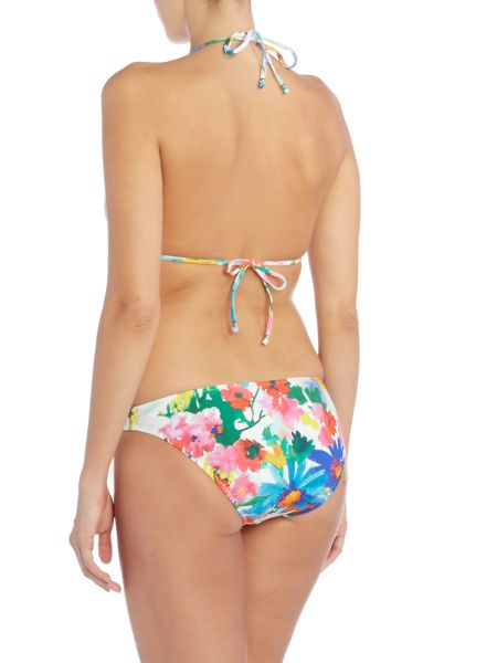 Polo Ralph Lauren Daisy floral keyhole one piece swimsuit