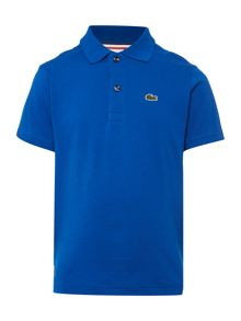 Lacoste Boys Short Sleeved Cotton Jersey Polo