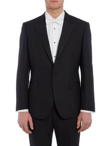 New & Lingwood Marlow peak lapel dinner suit jacket