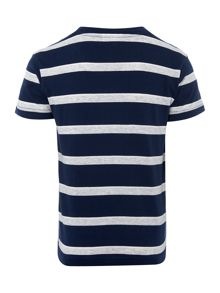 Lacoste Boys Striped short sleeved tee