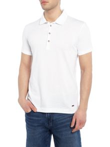 Hugo Boss Peerson fashion fit geo dot print polo shirt