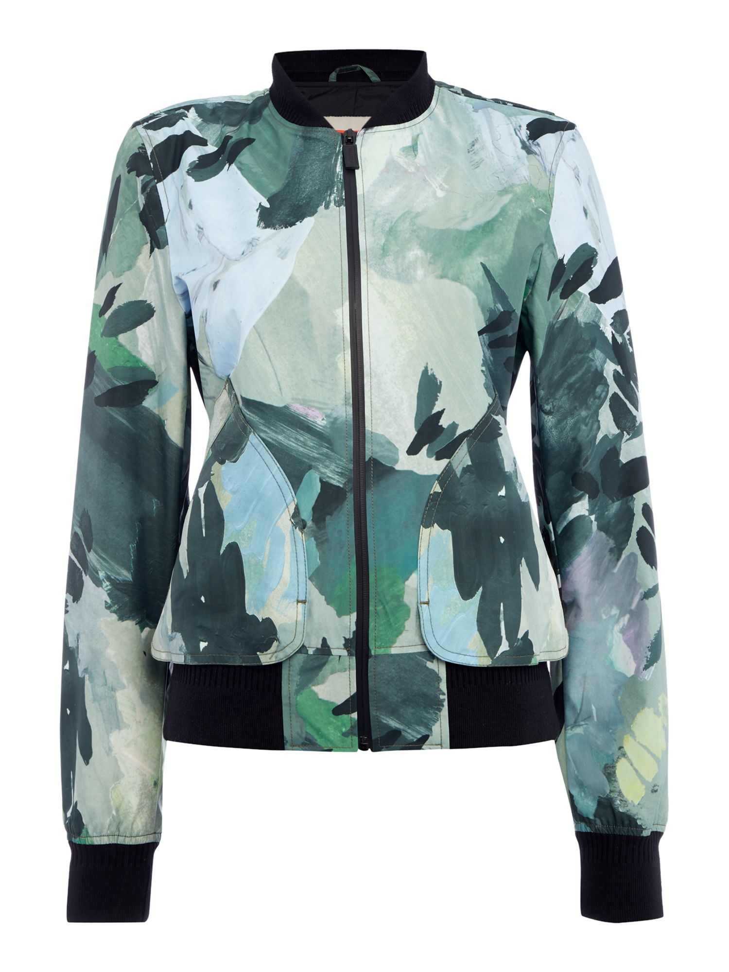Hunter Original 3 layer print bomber, Multi-Coloured