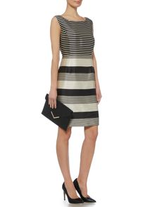 Linea Monochrome stripe dress