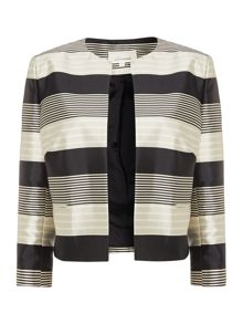 Linea Monochrome stripe jacket