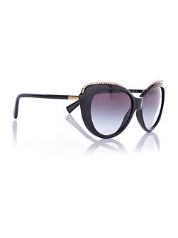 HC8157 cat eye sunglasses
