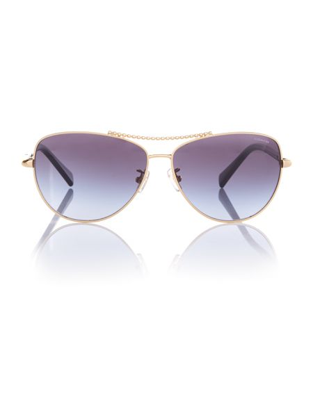 Coach HC7058  aviator sunglasses