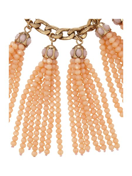 Max Mara Formica tassel necklace