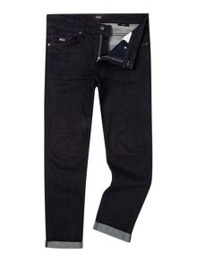 Hugo Boss Delaware Slim Fit Dark Rinsed Stretch Jeans