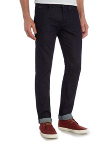 Delaware Slim Fit Dark Rinsed Stretch Jeans