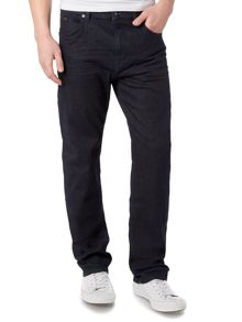 Hugo Boss Alabama Loose Fit Dark Rinse Stretch Jeans