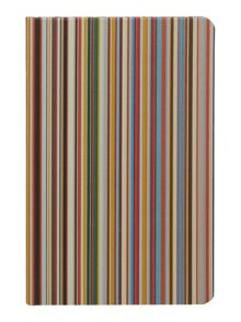 Paul Smith London Multistripe pocket notebook