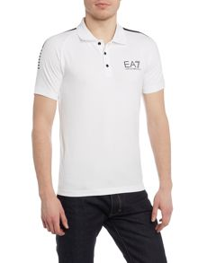 EA7 7 Lines Short Sleeve Polo