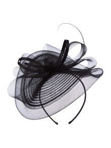 Linea Jasper Crin Bow Fascinator