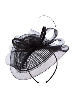 Jasper Crin Bow Fascinator