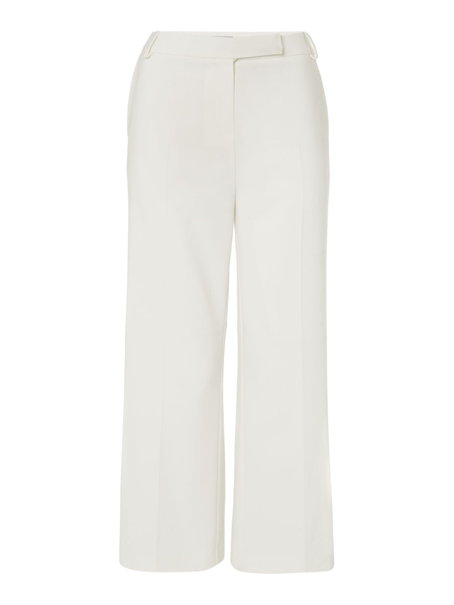 Pied a Terre Pied a Terre 3/4 Flare Trousers, Ivory