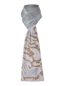 Lola Rose Luxitude animal pastel scarf