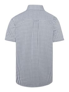 Lacoste Boys Small gingham check shirt