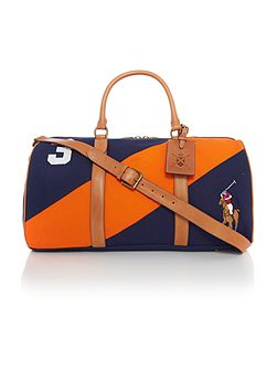 Regatta stripe canvas duffle bag