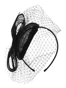Linea Joanna Bow and Tule Pill Box Hat