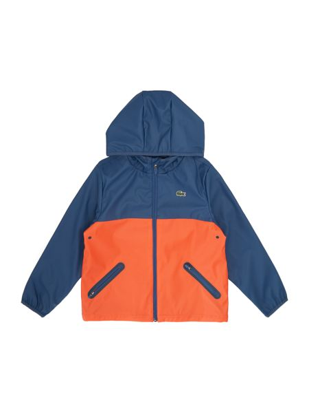 Lacoste Boys Hooded zip up jacket