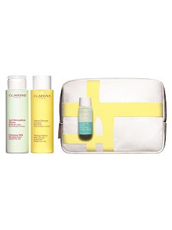 Clarins Cleansing Collection For Normal to Dry Skin
