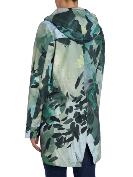 Hunter Original 3 layer print mid length smock