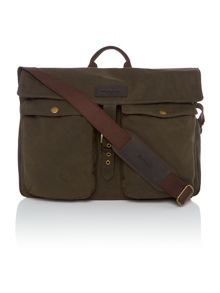 Barbour Waxed retriever bag
