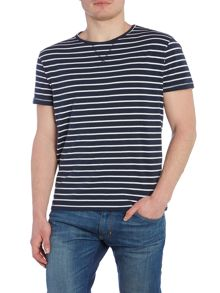 Bellfield Bayswater regular fit stripe t shirt