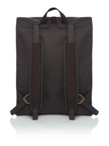 Barbour International rubberised backpack