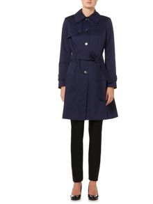 Helene Berman Single breasted trench coat