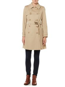 Helene Berman Double breasted trench coat
