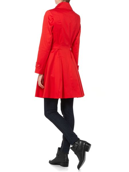 Helene Berman Full skirted trench coat