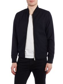 Bellfield Hakone zip thru baseball collar bomber jacket