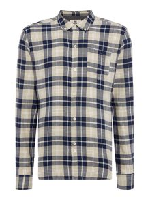 Bellfield Barrow regular fit long sleeve check shirt