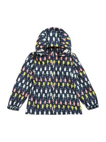 name it Girls Ice cream print Jacket With Hood