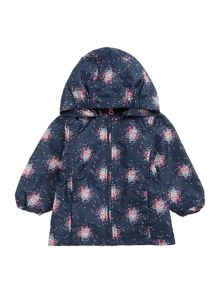 name it Girls Sprinkle printed hooded Jacket