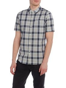 Bellfield Hibernia short sleeve check shirt