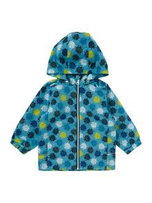 name it Boys Bug print jacket with hood