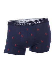 Polo Ralph Lauren 2 pack solid and pony print