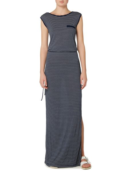 Linea Weekend Classic stripe maxi dress