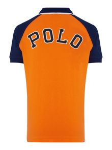 Polo Ralph Lauren Boy`s Short Sleeve Contrast Polo