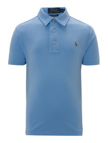 Polo Ralph Lauren Boy`s Short Sleeve Pima Cotton Polo