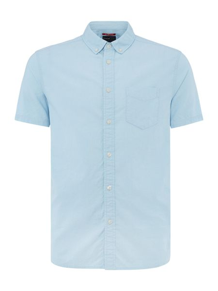 Criminal Hector Plain Short Sleeve Shirt