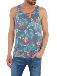 Eleven Paris Rhann regular fit floral print vest