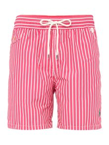 Butcher stripe short