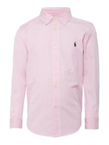 Polo Ralph Lauren Boy`s Candy Stripe Shirt