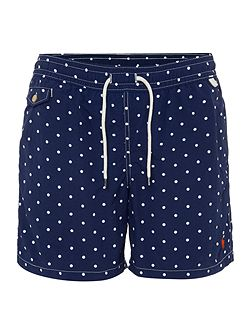 Polka dot print swim Shorts