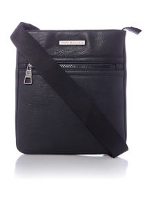 Tommy Hilfiger PU essential flat crossover bag