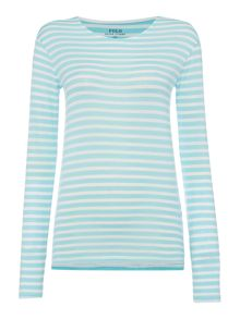 Polo Ralph Lauren Long sleeve stripe joan top