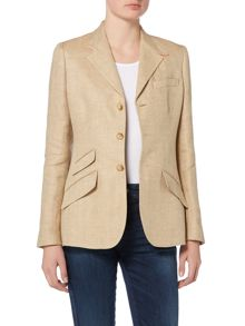 Polo Ralph Lauren Hacking blazer with pop collar